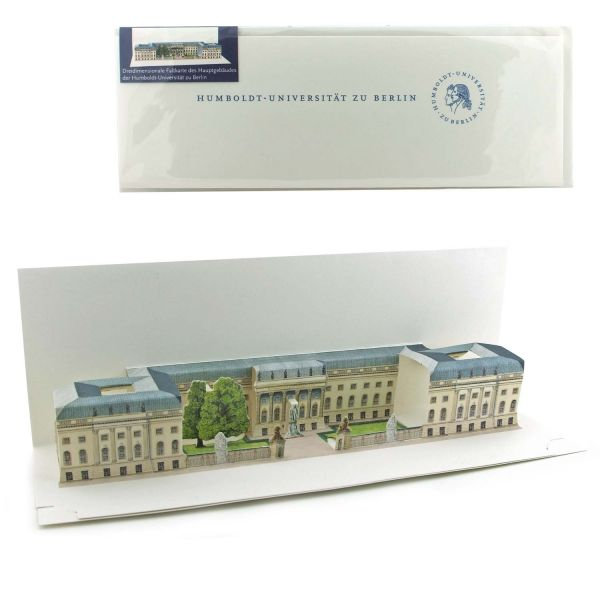 Pop-up-card Humboldt-University