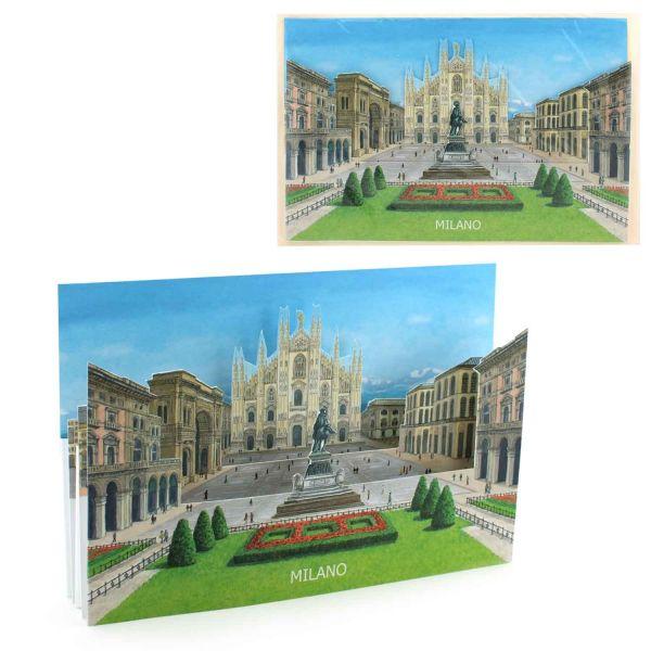 3D-Städtekarte von Mailand