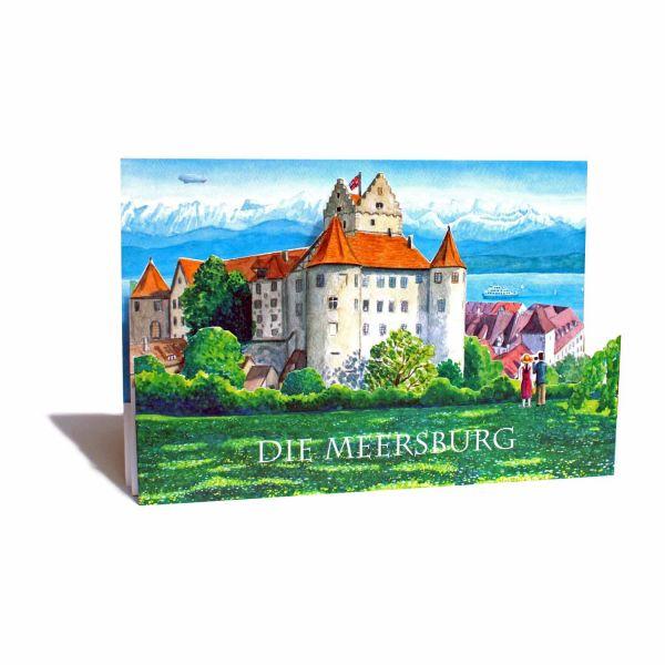 3D-Ebenenkarte der Meersburg am Bodensee