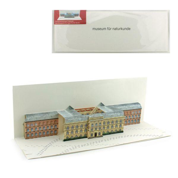 Pop-up-Karte Museum für Naturkunde Berlin