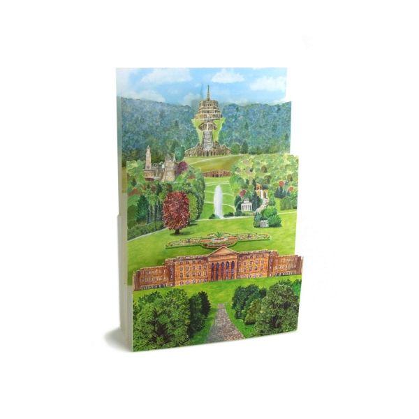 3d-card of the Mountainpark Wilhelmshöhe in Kassel