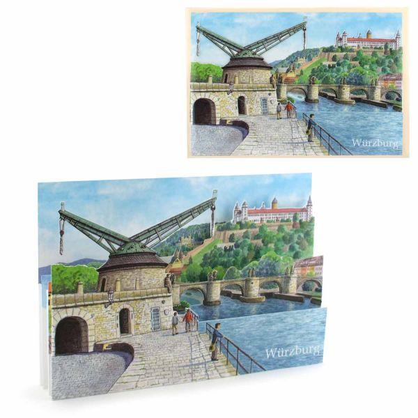 3D-Citycard Würzburg2