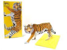 3D-Grusskarte Tiger