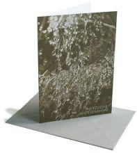 Trauerkarte Gefrorene Regentropfen