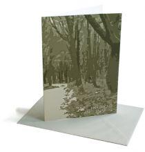 Trauerkarte Forest
