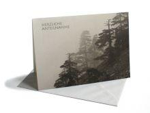 Trauerkarte Nebelwald
