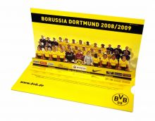 Pop up card of the team of BvB