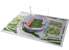 Popup-Karte des Stadions an der Grünwalder Straße