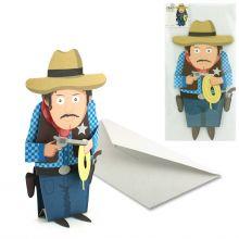 3D-Card Type Cowboy