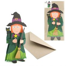 3D-Card Type Witch