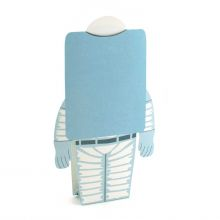 3D-Grusskarte Astronautin