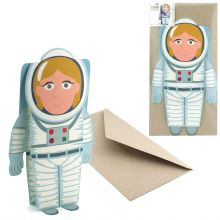 3D-Card Type Astronaut
