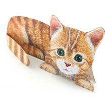 3D-Grusskarte Kleine katze