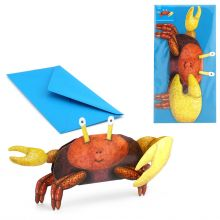 3D-Grusskarte Krebs