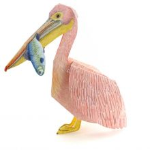 3D-Grusskarte Pelikan