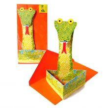 3D-Grusskarte Schlange