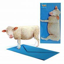 3D-Grusskarte Schaf