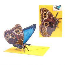 3D-Grusskarte Schmetterling
