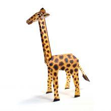 3D-Grusskarte Giraffe