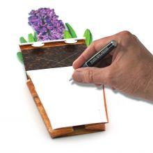 3D-Grusskarte Hyazinthe