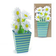3D Greeting Card Daisies