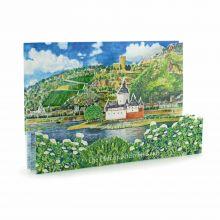 3D-Städtekarte Kaub am Rhein