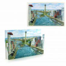 3D-Städtekarte Düsseldorf