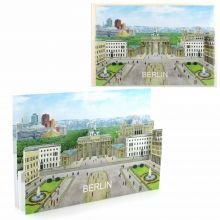 3d-Citycard of Berlin