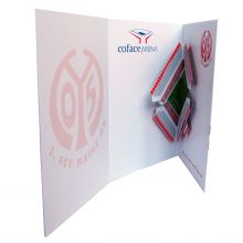3D-Popupcard of the Coface-Arena
