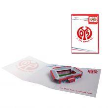 3D-Popupkarte der Coface-Arena