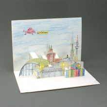 Pop up card of Dortmund