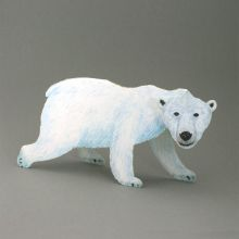Laufender Eisbär