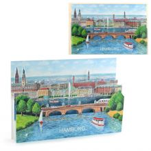 3D-Citycards Hamburg