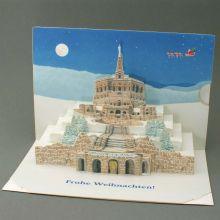 Pop-up-card as a christmas card