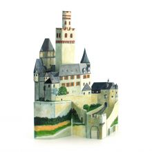 The castle Marksburg at the Rhine