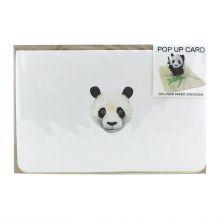 Pop up card Pandabear
