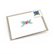 Pop up card with Christmastime