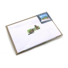Pop up card with marmots